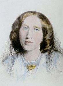 From Wikipedia: http://en.wikipedia.org/wiki/File:George_Eliot_7.jpg