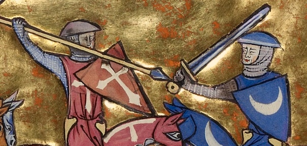 Battle of Debtor and Creditor, from Vidal Mayor