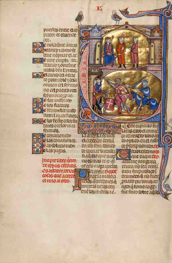 Initial E: An Equestrian Duel Between a Creditor and a Debtor